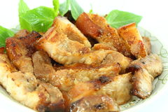 Fried pork Royalty Free Stock Photos