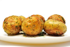 Fried potato Royalty Free Stock Image