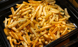 Fried potato Stock Photography