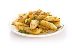 Fried potato Royalty Free Stock Photos