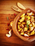 Fried potato Royalty Free Stock Photos