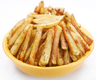 Fried potato Stock Image