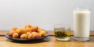 Fried potato balls Royalty Free Stock Image