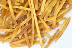fried potato Royalty Free Stock Image