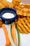 Fried potato dish Stock Photo