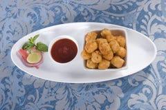 Fried Potato Nuggets Lizenzfreies Stockbild