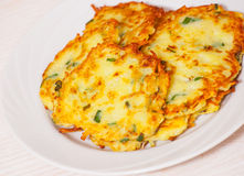 Fried potato pancake Royalty Free Stock Image