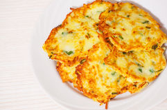Fried potato pancake Royalty Free Stock Photos