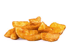 Fried potato in a rural way Royalty Free Stock Photo