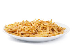 Fried potato sticks Royalty Free Stock Photo