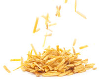Fried potato sticks Royalty Free Stock Image