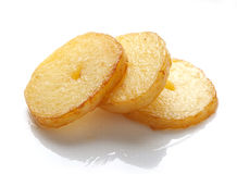 Fried potato Royalty Free Stock Images