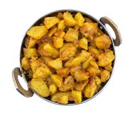 Fried Potato Vegetable photo stock