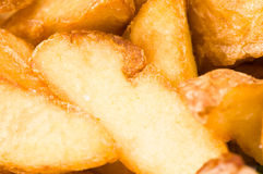 Fried potato wedges Royalty Free Stock Photography