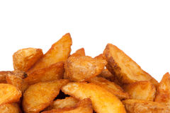Fried Potato wedges. Fast food Royalty Free Stock Photography