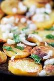 Fried potatoes Royalty Free Stock Photo