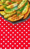 Fried potatoes. Stock Image
