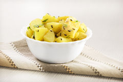 Fried Potatoes Royalty Free Stock Images