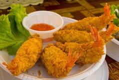 Fried prawn balls. Stock Photography