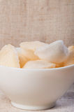 Oriental prawn crackers Stock Images