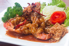Fried prawn Royalty Free Stock Image