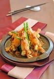 Fried prawn food Royalty Free Stock Image