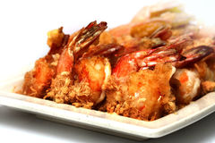 Fried Prawn Stock Image