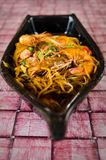Fried Prawn Mee Stock Image