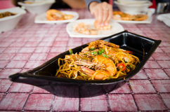 Fried Prawn Mee Stock Images