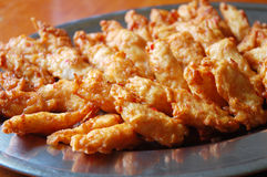 Fried prawn nuggets Stock Image