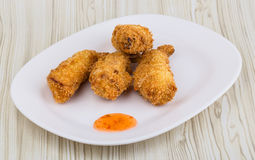 Fried prawn tempura Stock Photography
