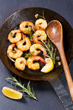 Fried prawns Royalty Free Stock Image