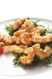 Fried prawns Stock Image