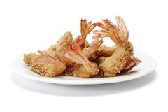 Fried Prawns Royalty Free Stock Photography