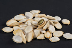 Fried Pumpkin Seeds Royalty Free Stock Image