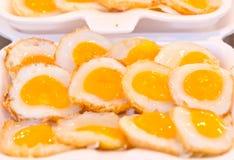 Fried Quail Egg. Imagenes de archivo