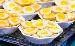 Fried Quail Egg. Royalty Free Stock Photo