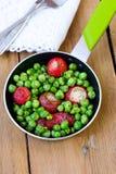 Fried radish and pea Royalty Free Stock Photos