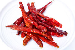 Fried red chili Royalty Free Stock Photo