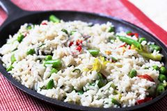 Fried Rice Stock Image