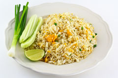 Fried rice. From the market in Bangkok, Thailand Royalty Free Stock Photo