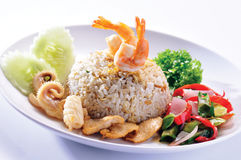 Fried rice. Royalty Free Stock Image
