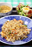 Fried rice. This is a picture of fried rice I have ever eaten Stock Photos