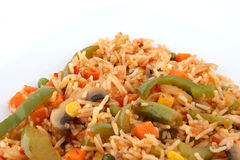 Fried rice. Chines fried rice for lunch or dinner Royalty Free Stock Images