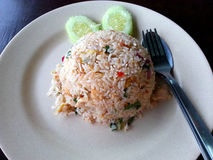 Asian food - Fried Rice Royalty Free Stock Photos