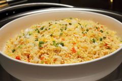 Fried rice in asian style Royalty Free Stock Images