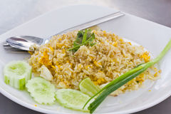 Fried rice in bangkok thailand Royalty Free Stock Images