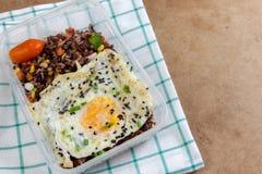 Fried Rice Benjarong tailandés Imagenes de archivo