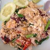 Fried Rice con la verdura Fotografie Stock Libere da Diritti