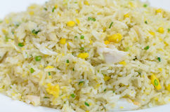 Fried Rice with Crab. The Fried Rice with Crab Royalty Free Stock Photography